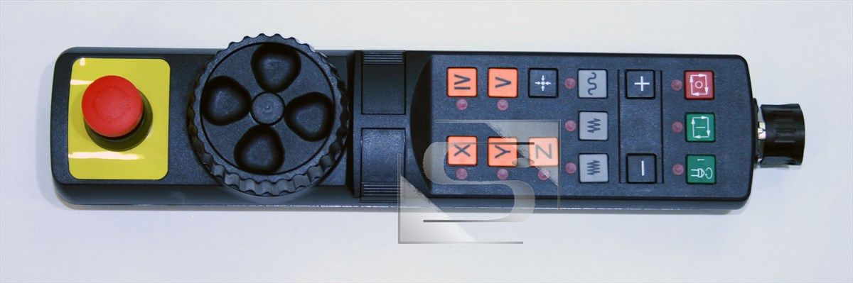 HR 410 elektronické ruční kolo bez rastrování Heidenhain