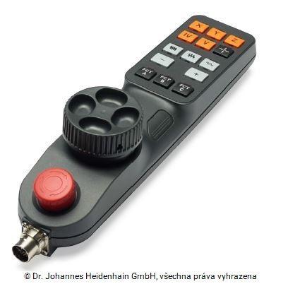 HR 510 elektronické ruční kolo bez rastrování Heidenhain