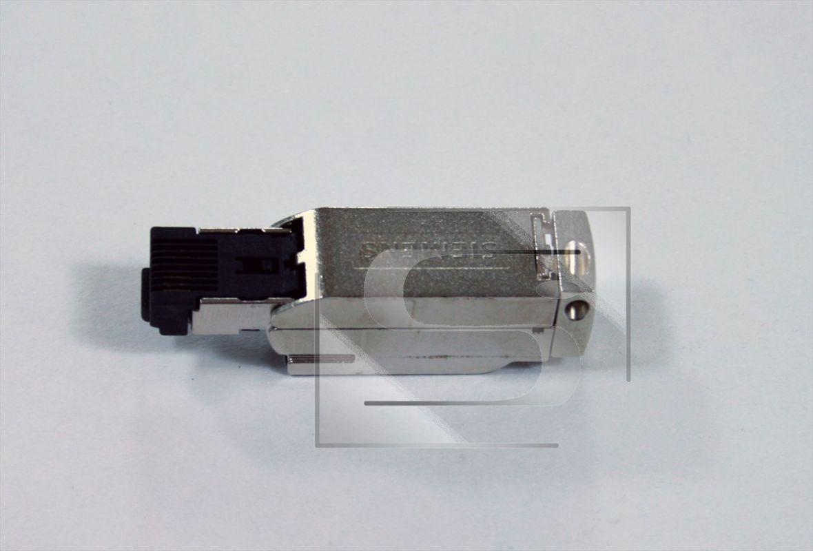 konektor RJ45 180° samozařezávací, kovový Siemens