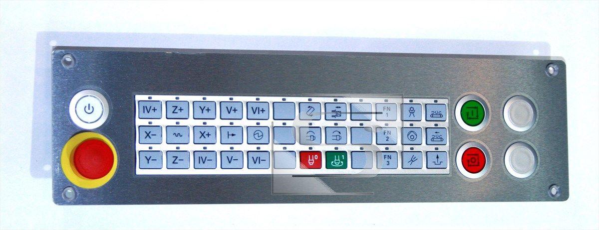 MB 720 strojní ovládací panel HSCI Heidenhain
