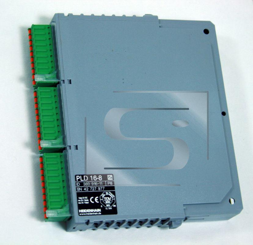 PLD 16-08 PLC digitální vstupy a výstupy do PLB 5xx Heidenhain