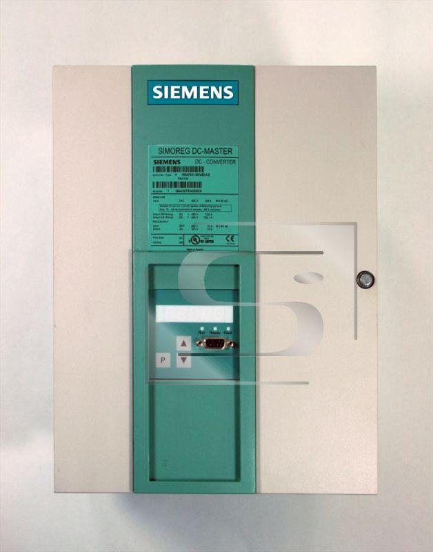 Simoreg 6RA70 425V / 125A DC regulátor Siemens