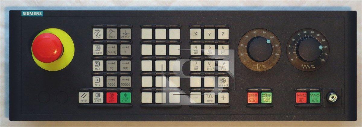 Sinumerik strojní ovládací panel Siemens